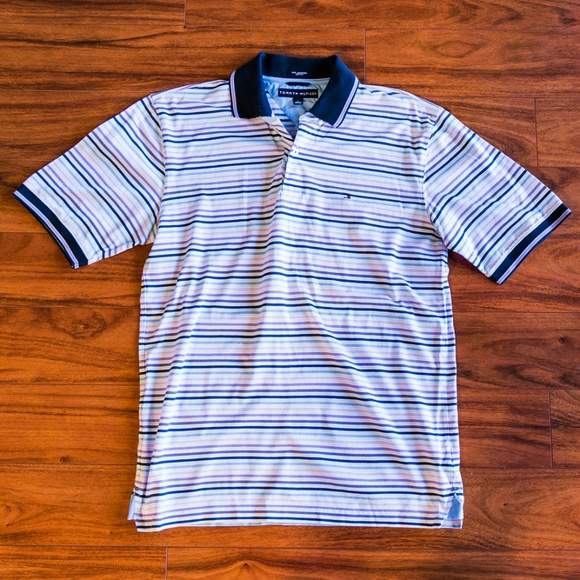 a530d4c9 Tommy Hilfiger Striped Polo Shirt. M_5bda32e03e0caa2f5255f465